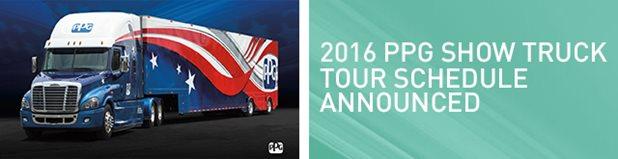 2016 PPG Show Truck Schedule