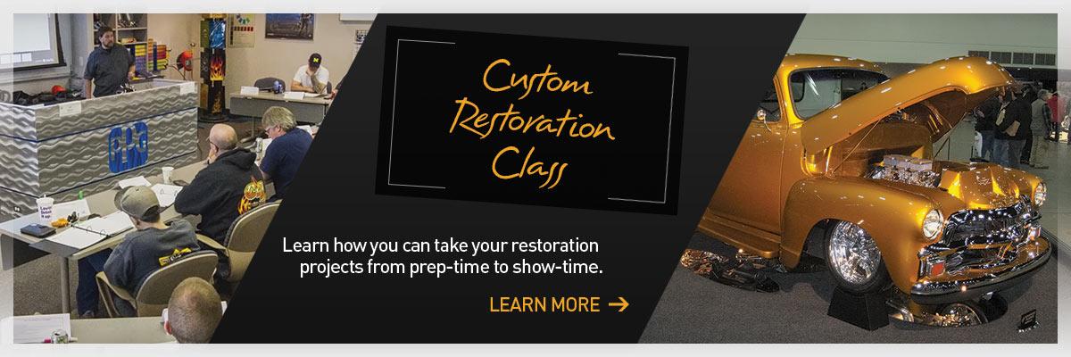 PPG Custom Restoration Class